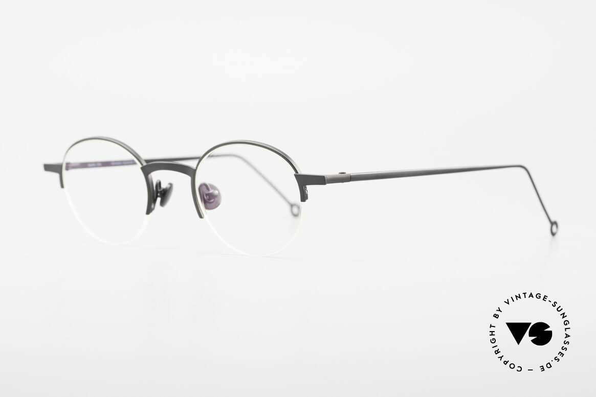 Markus Marienfeld Sina Pure Titanium Brille Handmade, klassische Pantoform-Brille in Spitzenqualität, Passend für Herren und Damen