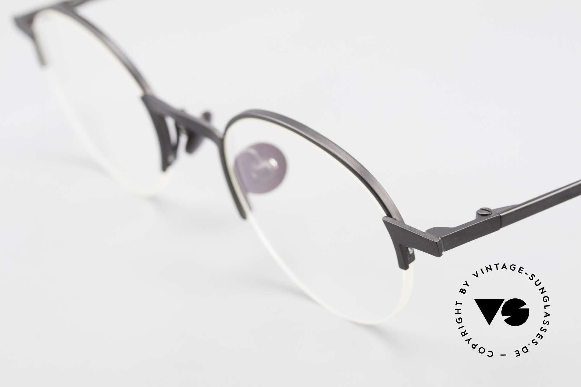 Markus Marienfeld Sina Pure Titanium Brille Handmade, reine Titanium-Fassung in Handarbeit gefertigt, Passend für Herren und Damen