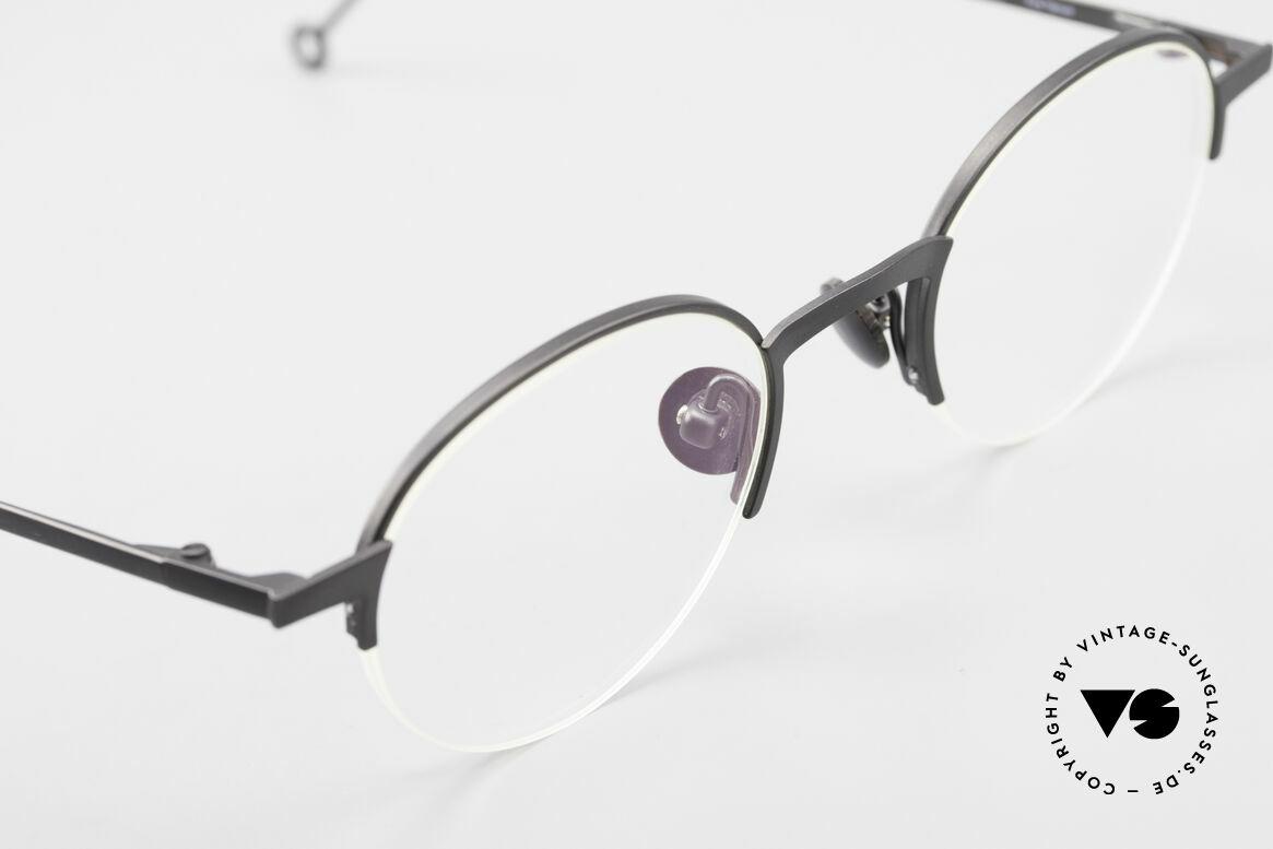 Markus Marienfeld Sina Pure Titanium Brille Handmade, ungetragenes Einzelstück für Qualitätsliebhaber, Passend für Herren und Damen