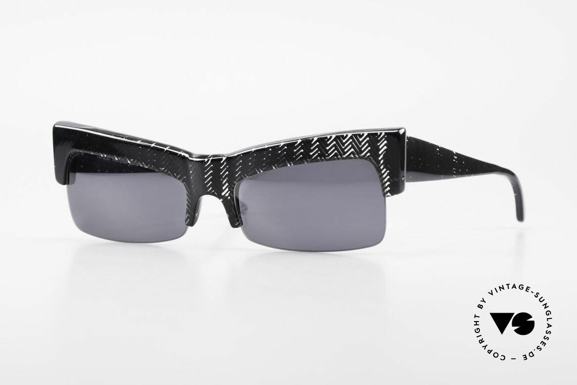 Claude Montana 522 80er Design Von Alain Mikli, vintage Claude Montana Sonnenbrille aus den 1980ern, Passend für Damen