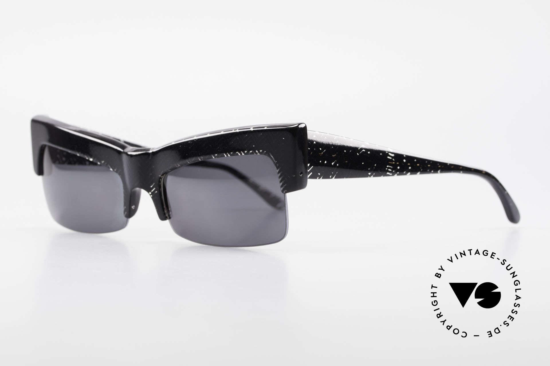 Claude Montana 522 80er Design Von Alain Mikli, auch diese Rarität ist prächtig gemacht, Eye-Catcher!, Passend für Damen