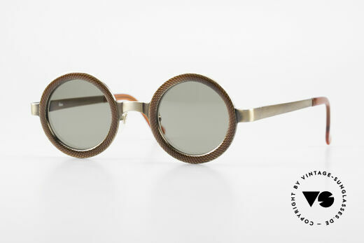 Rosana R4 Runde Insider Sonnenbrille Details