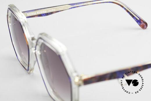 Sonia Rykiel SR756 Achteckige 70er Sonnenbrille, KEINE Retrosonnenbrille; ein altes vintage ORIGINAL!, Passend für Damen