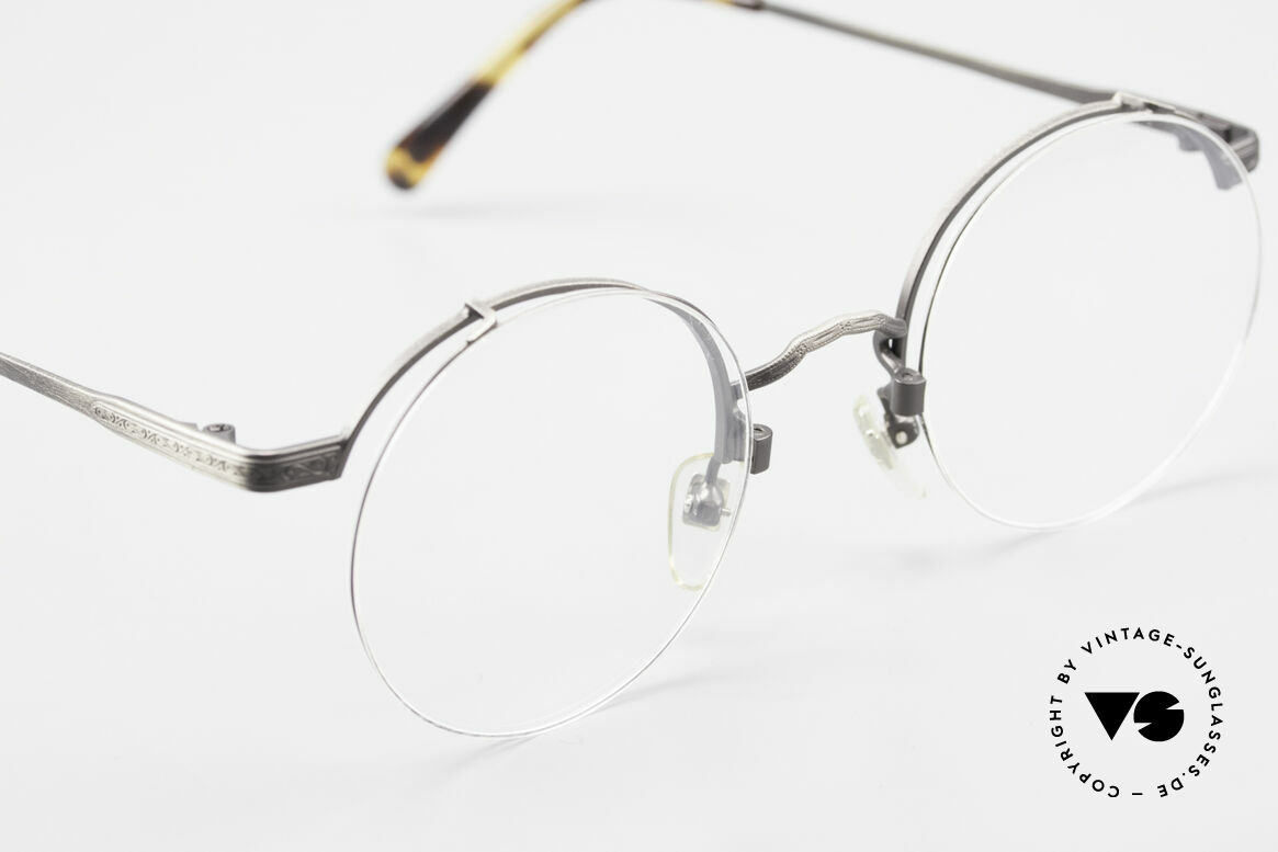 Bada BL9 Oliver Peoples Eyevan Pendant, ungetragen (wie alle unsere alten LA + Sabae Brillen), Passend für Herren und Damen