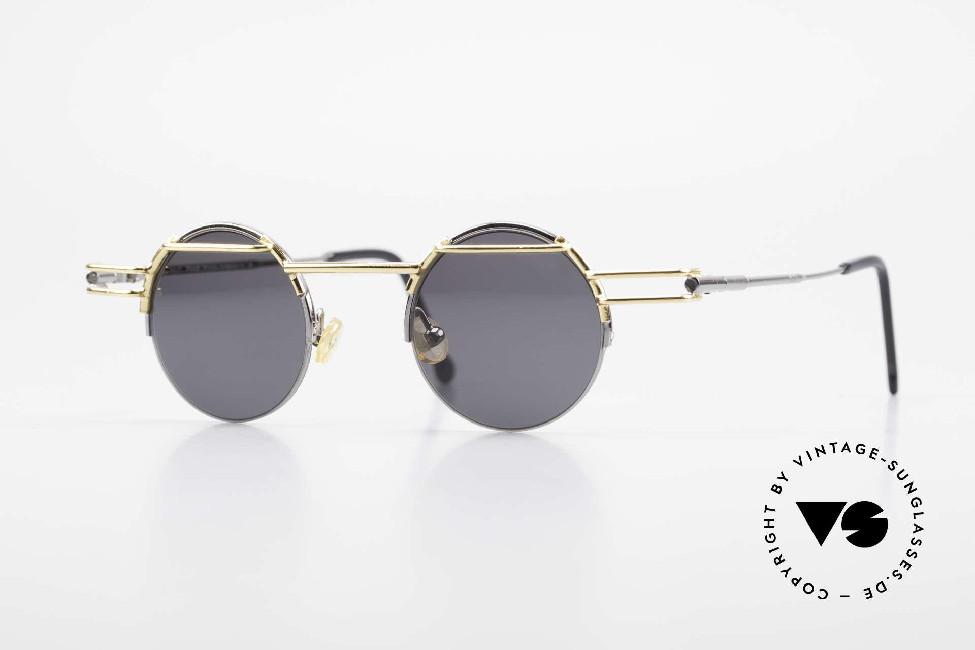 IMAGO Luna Runde Designer Sonnenbrille, IMAGO = Brillen mit Identität und Persönlichkeit, Passend für Herren und Damen