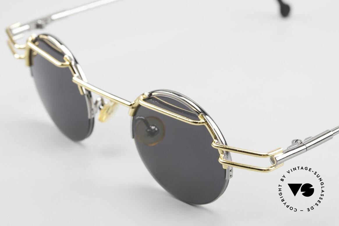 IMAGO Luna Runde Designer Sonnenbrille, komplexe Designs und allerhöchste Fertigungskunst, Passend für Herren und Damen