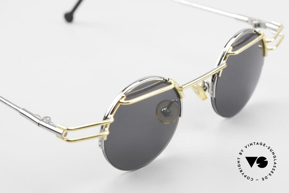 IMAGO Luna Runde Designer Sonnenbrille, ungetragen (wie alle unsere IMAGO Brillen der 90er), Passend für Herren und Damen