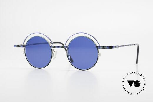 IMAGO Pluto Kunst Designer Sonnenbrille Details