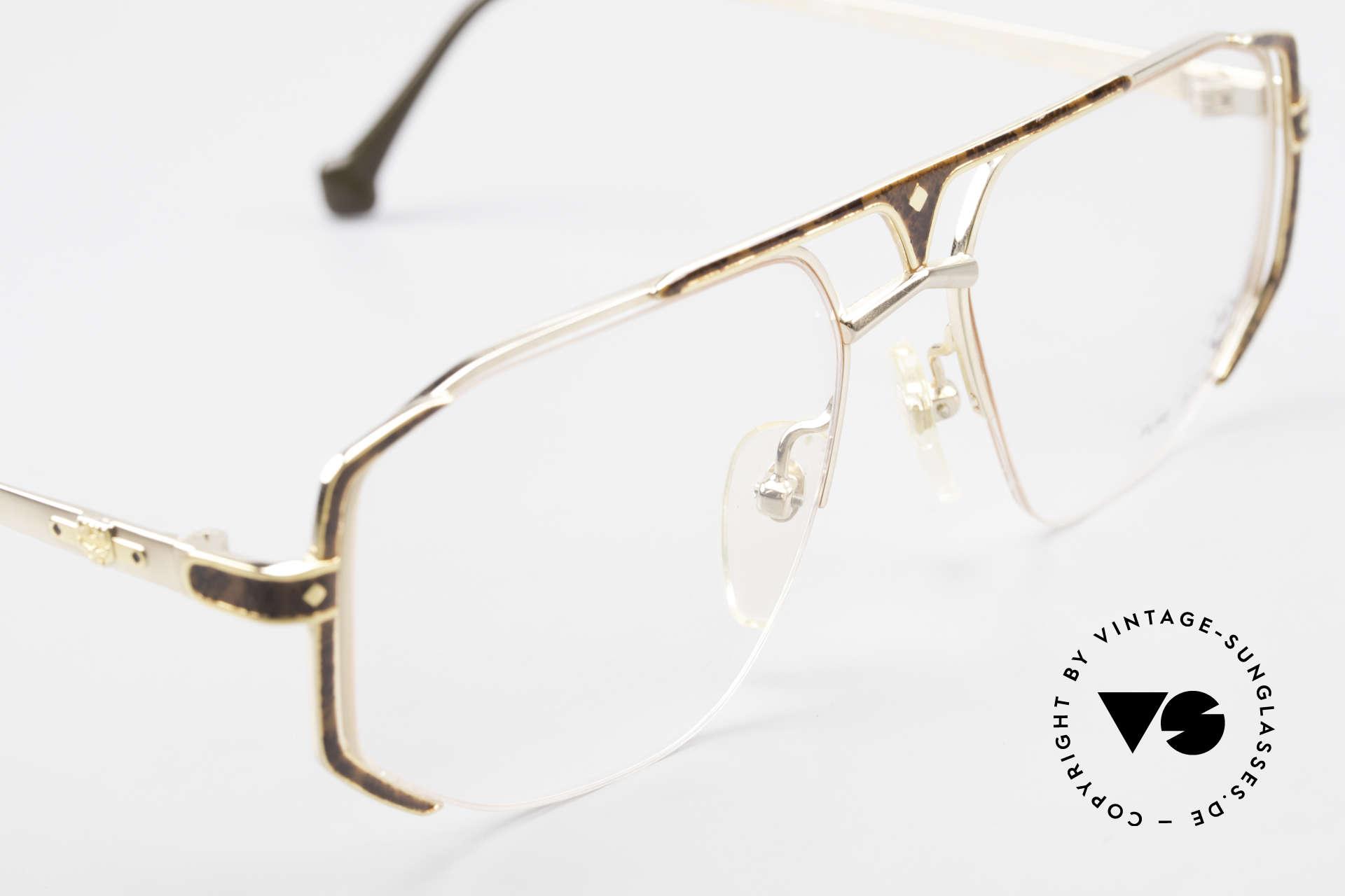 MCM München 5 Pure Titanium Brille Vergoldet, ungetragen (wie alle unsere alten MCM-Originale), Passend für Herren
