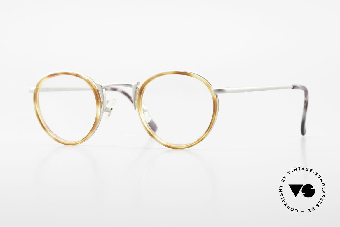 Freudenhaus Bido Runde 90er Designer Brille, vintage Brillenfassung von FREUDENHAUS, München, Passend für Herren und Damen
