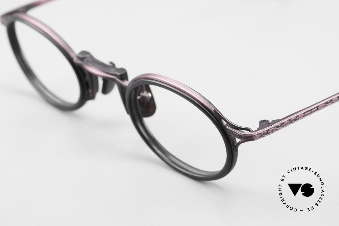 Freudenhaus Andua Ovale 90er Designer Fassung, ungetragen (wie alle unsere vintage Designerbrillen), Passend für Damen