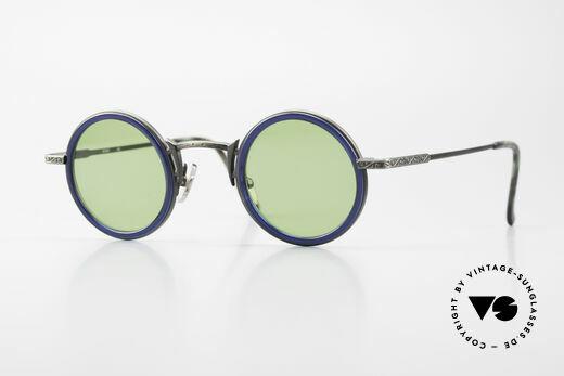 Freudenhaus Domo Runde Designer Sonnenbrille Details