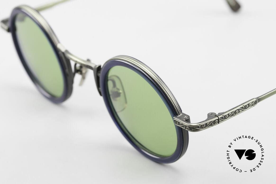 Freudenhaus Domo Runde Designer Sonnenbrille, ungetragen (wie alle unsere vintage Designerbrillen), Passend für Herren