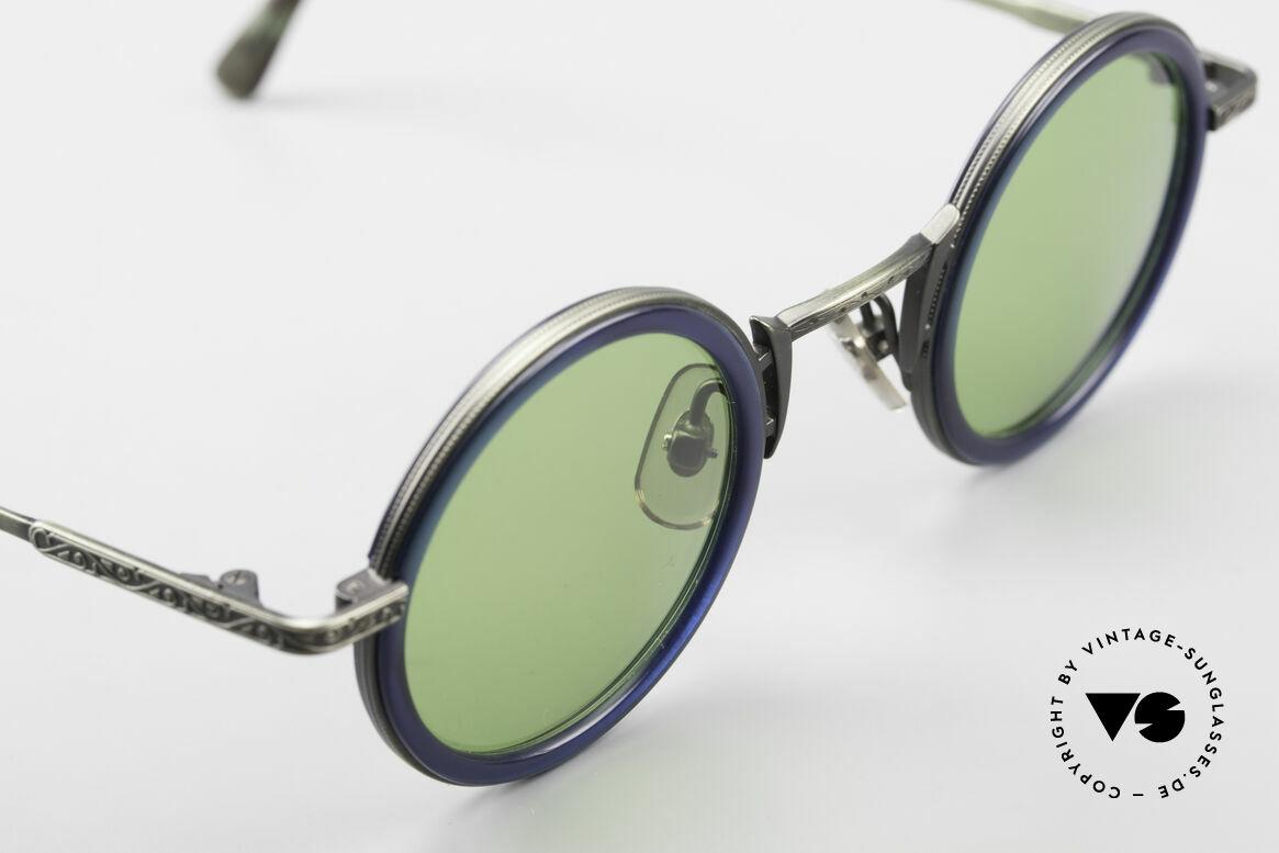 Freudenhaus Domo Runde Designer Sonnenbrille, KEINE Retromode, ein kostbares 90er Jahre Original!, Passend für Herren