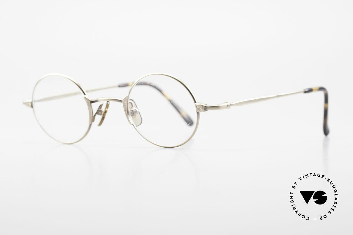 Freudenhaus Tori Kleine Runde Designer Brille, zeitlos und raffiniert gleichermaßen (SMALL Größe), Passend für Herren und Damen