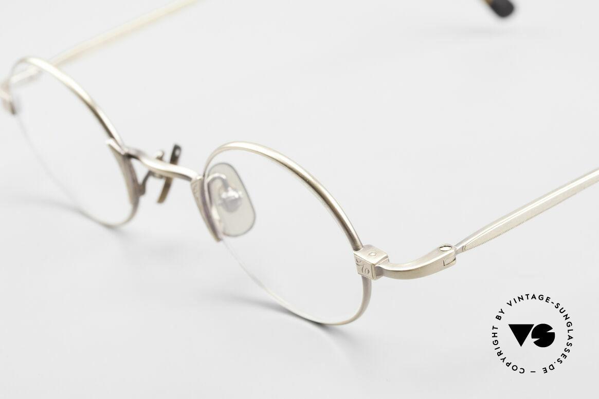 Freudenhaus Tori Kleine Runde Designer Brille, ungetragen (wie alle unsere vintage Designerbrillen), Passend für Herren und Damen