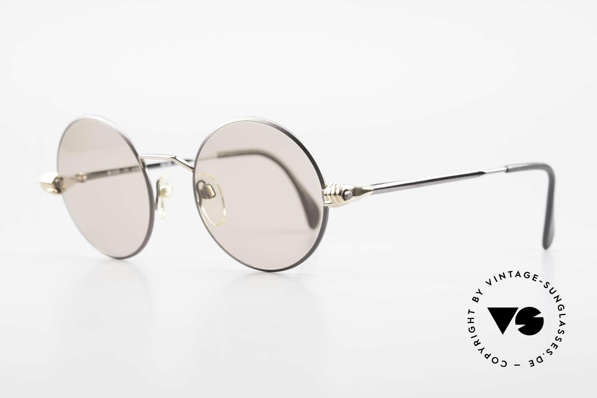 Silhouette M7112 Die Brille mit den Händen, es gab verschiedene Modelle mit den Goldhänden, Passend für Herren und Damen