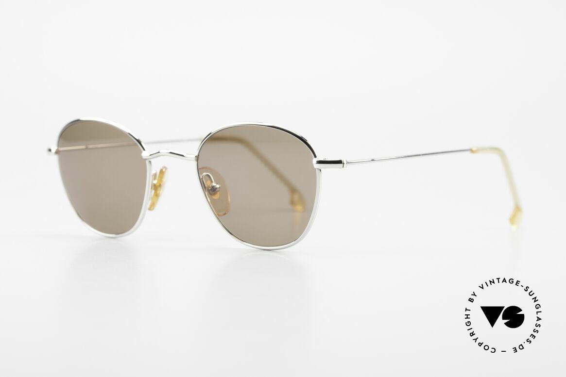 W Proksch's M8/1 90er Avantgarde Sonnenbrille, schlichtes Design & japanisches Qualitäts-Streben!, Passend für Herren und Damen