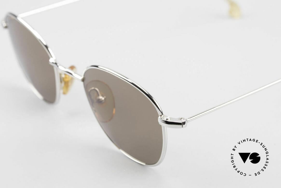 W Proksch's M8/1 90er Avantgarde Sonnenbrille, seit 1998 produziert nun die Firma Kaneko in Lizenz, Passend für Herren und Damen