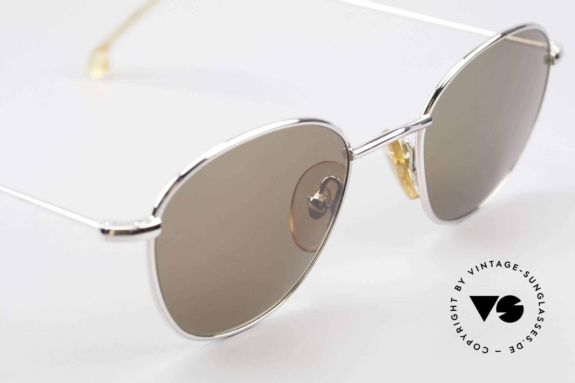 W Proksch's M8/1 90er Avantgarde Sonnenbrille, dieses alte WP Original verkörpert stilvolle Eleganz, Passend für Herren und Damen