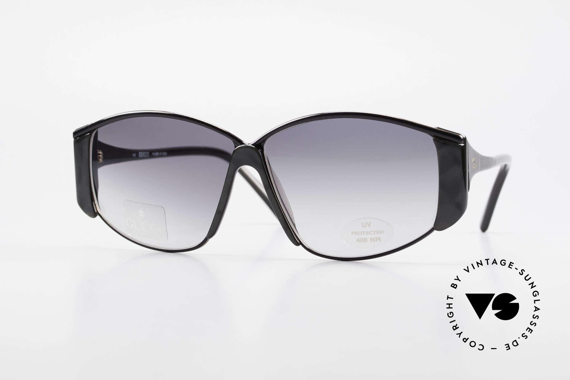Gucci 2308 80er Damen Vintage XL Brille, aufregende vintage Oversize Sonnenbrille von Gucci, Passend für Damen