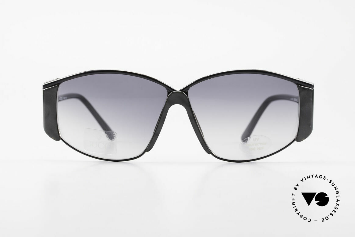 Gucci 2308 80er Damen Vintage XL Brille, eine echte italienische Rarität aus den Achtzigern, Passend für Damen