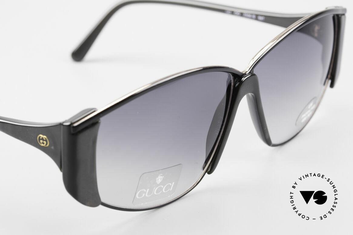 Gucci 2308 80er Damen Vintage XL Brille, ungetragen (wie alle unsere Sonnenbrillen von Gucci), Passend für Damen