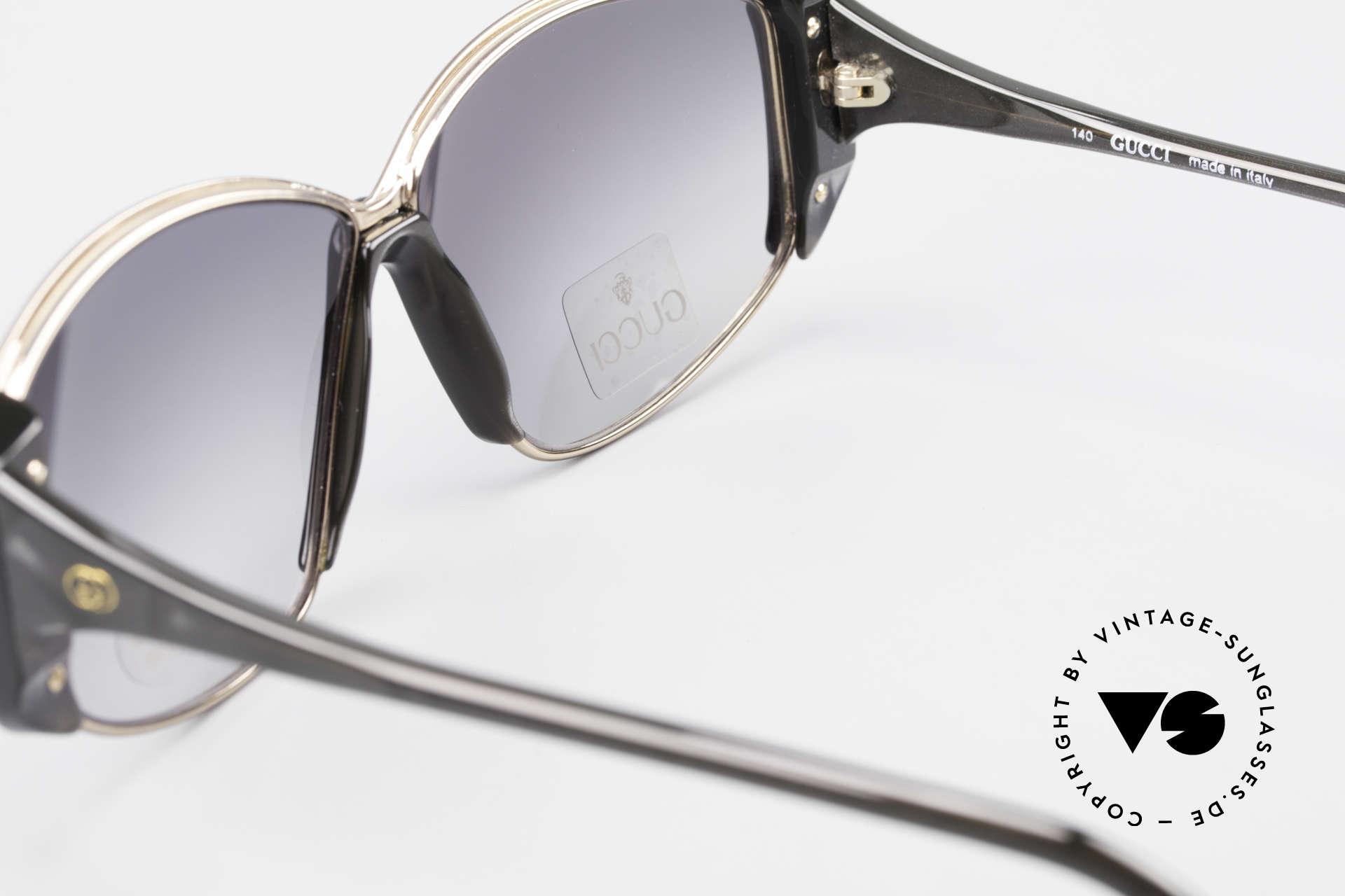 Gucci 2308 80er Damen Vintage XL Brille, KEINE RETRObrille, sondern 100% vintage ORIGINAL, Passend für Damen