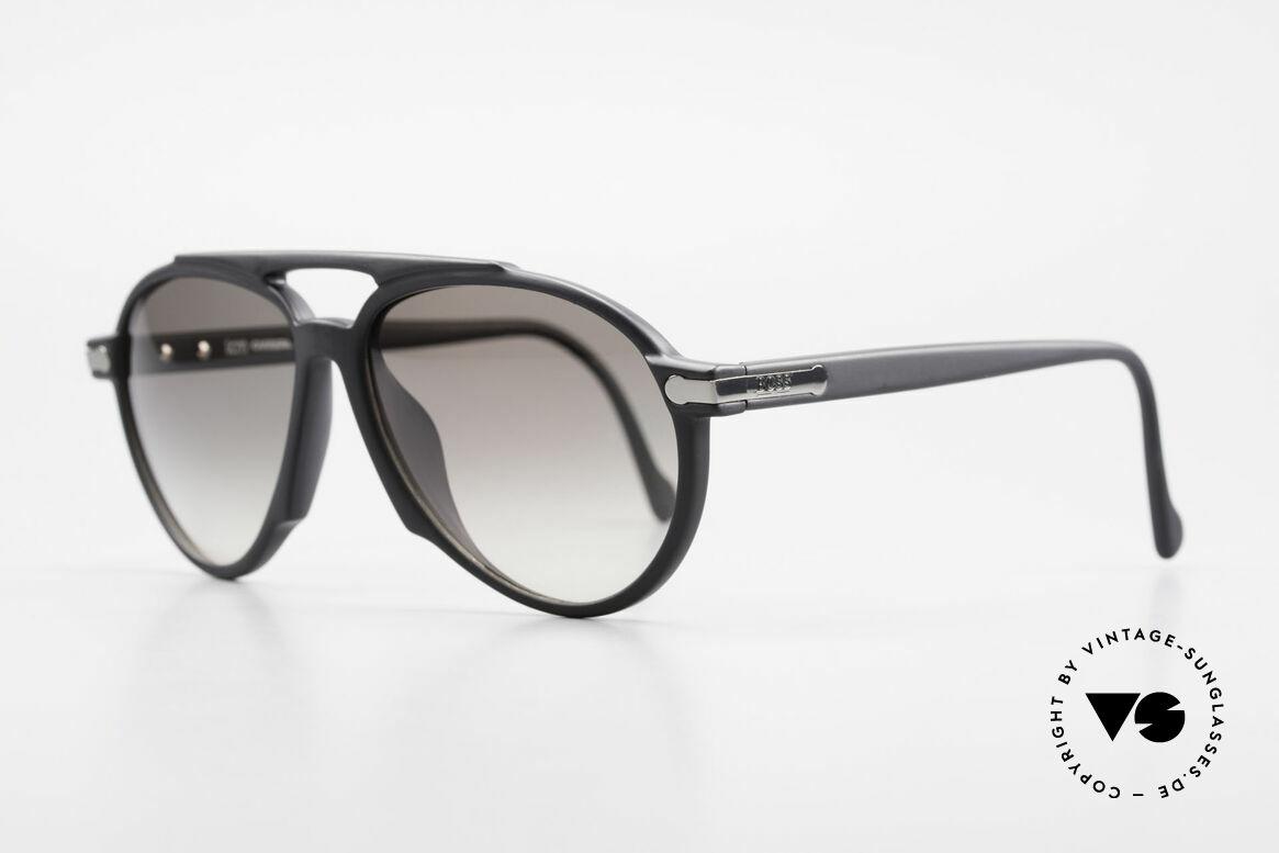 BOSS 5150 90er Vintage Pilotenbrille, aus damaliger Kooperation v. BOSS & Carrera, Passend für Herren und Damen