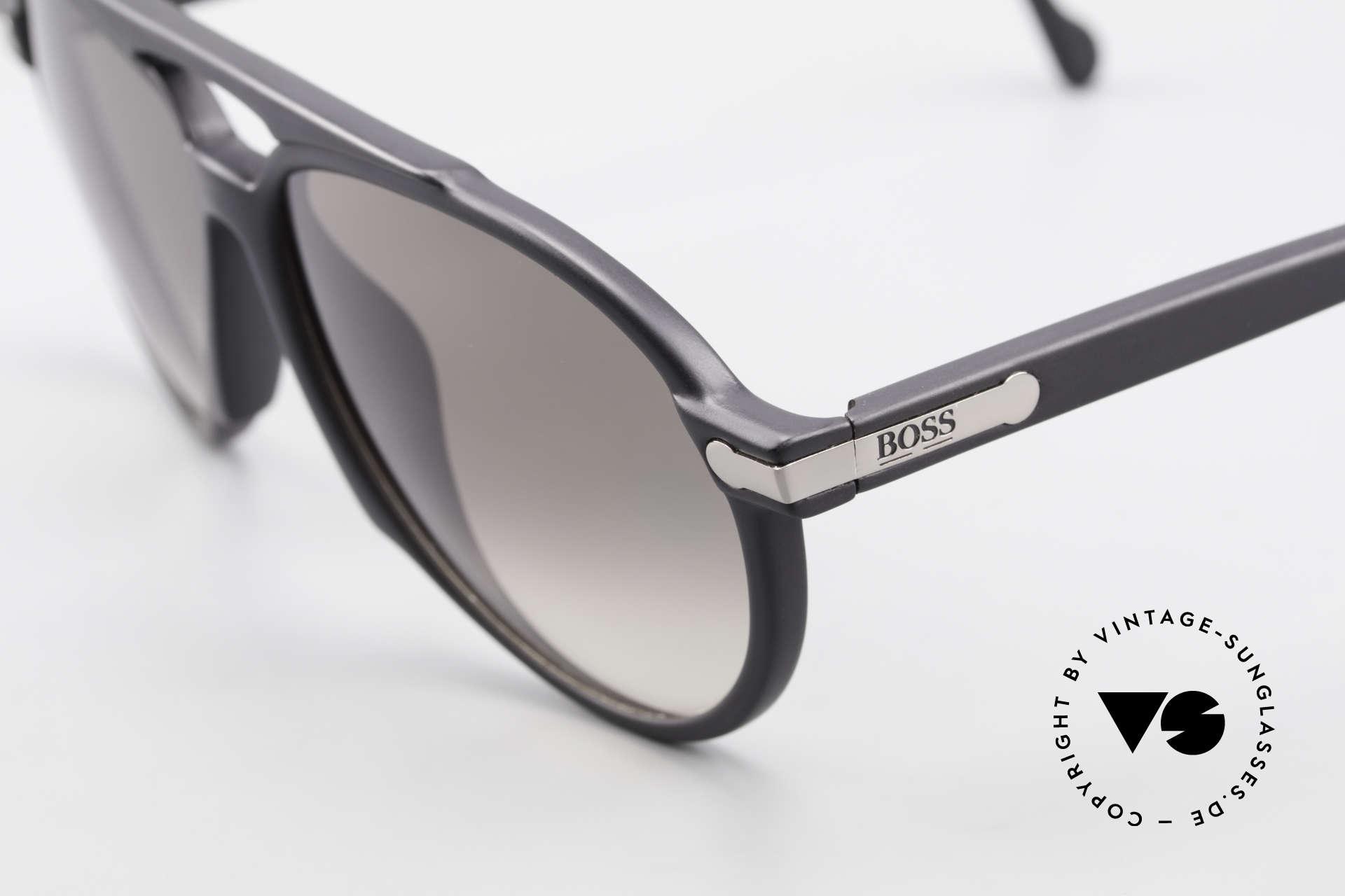 BOSS 5150 90er Vintage Pilotenbrille, sehr leicht und Top-Qualität (Optyl-Material), Passend für Herren und Damen