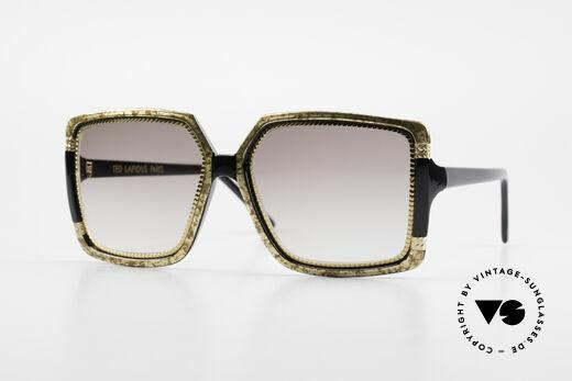 Ted Lapidus 1503 XXL 70er Sonnenbrille Damen Details
