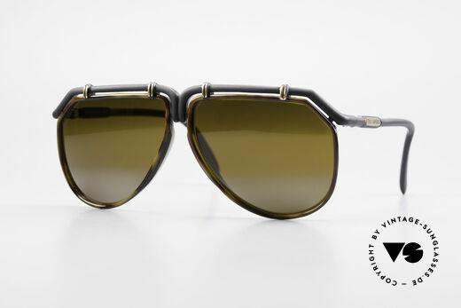 Ted Lapidus 1623 70er Herren Sonnenbrille Pilot Details