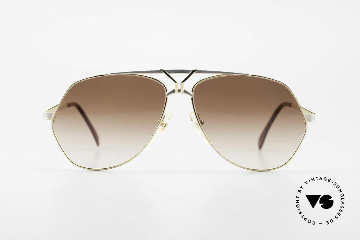 Yves Saint Laurent 8806 80er YSL Herren Sonnenbrille, pure Eleganz von Yves Saint Laurent, Frankreich, Passend für Herren