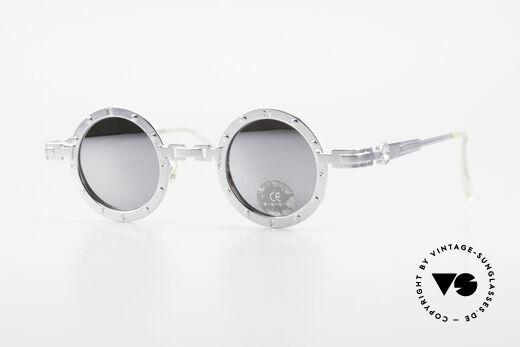 Koure Icon 2266 Verspiegelte Steampunk Brille Details