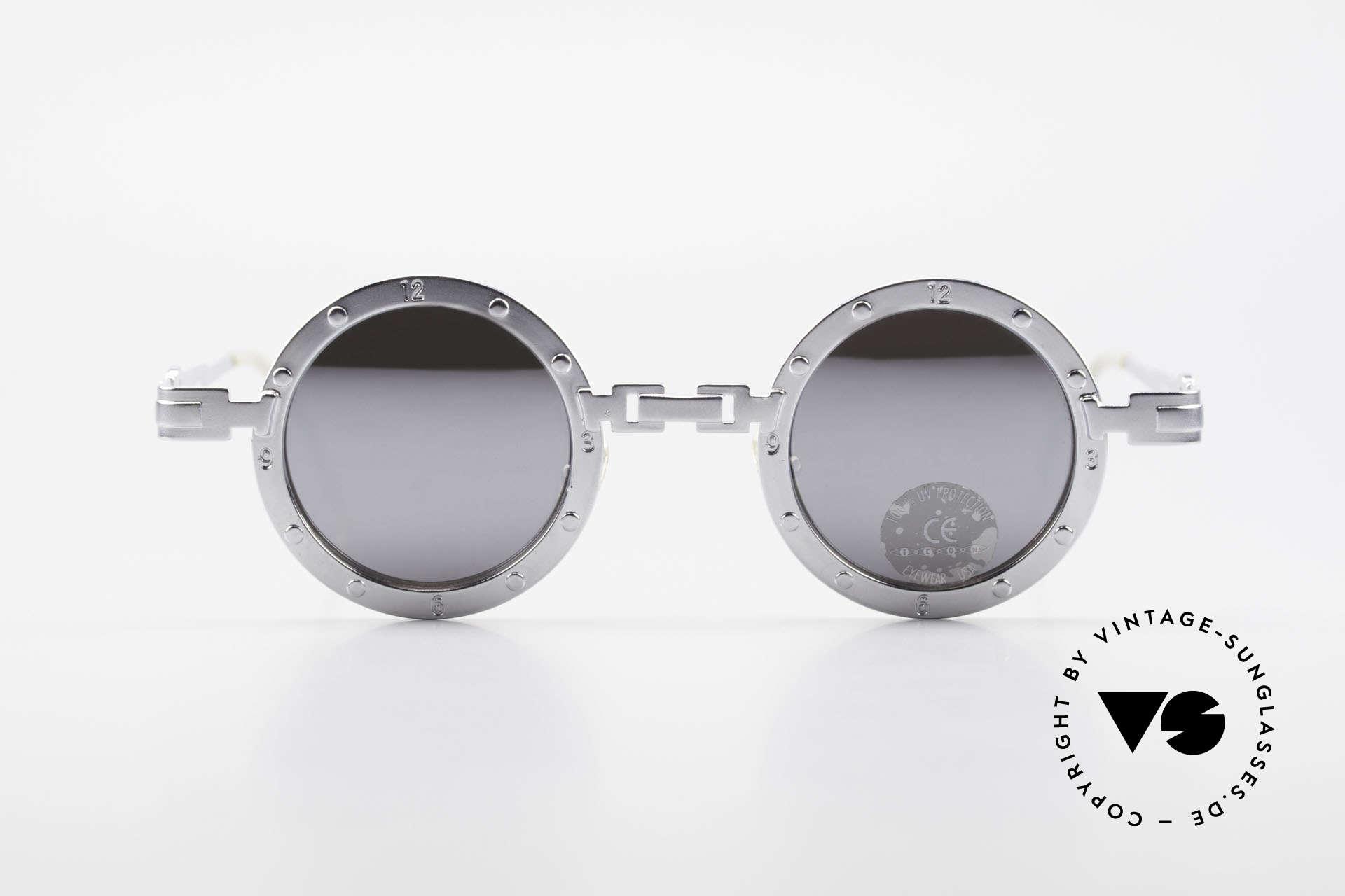 Koure Icon 2266 Verspiegelte Steampunk Brille, eine kleine aber feine Brillenkollektion aus Südkorea, Passend für Herren und Damen