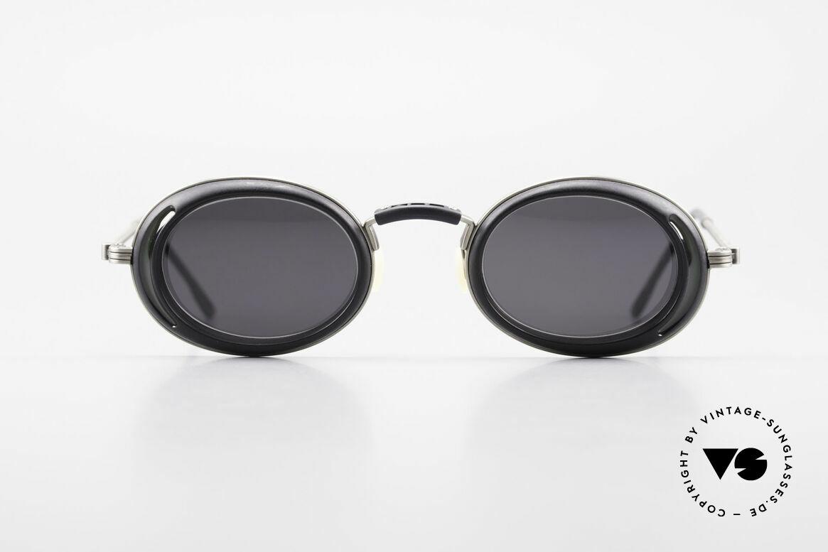 DOX 05 ATS Industrial Brille Gaultier Stil, aus dem gleichen Werk wie Y. Yamamoto & JP Gaultier, Passend für Herren und Damen