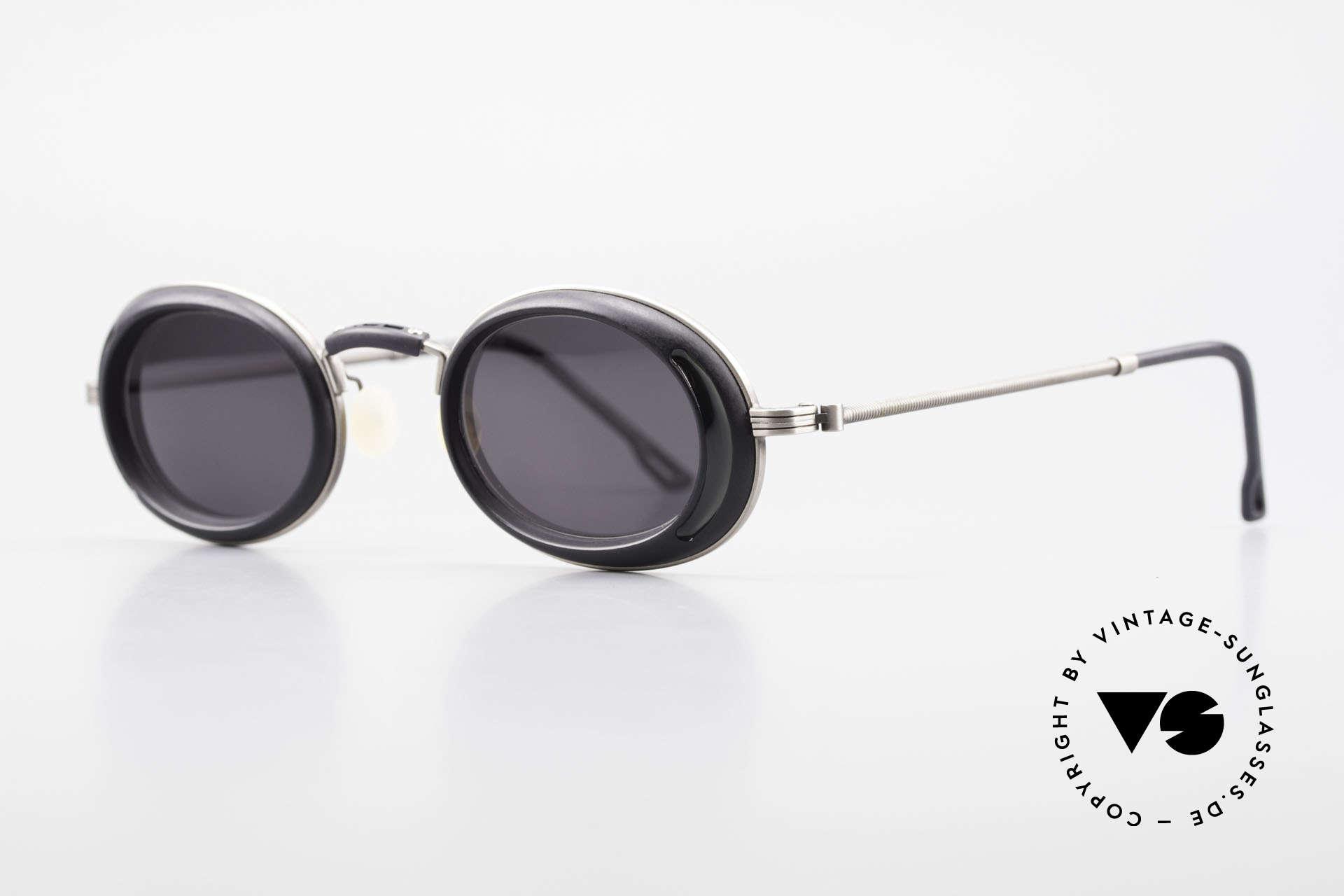 DOX 05 ATS Industrial Brille Gaultier Stil, entsprechend sind Qualität & Anmutung identisch top, Passend für Herren und Damen