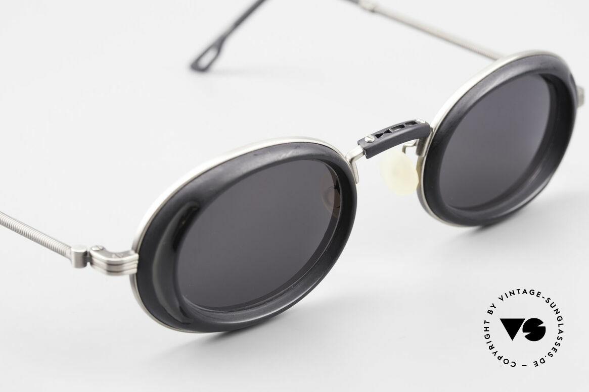 DOX 05 ATS Industrial Brille Gaultier Stil, ungetragen (wie alle unsere 1990er Brillen aus Japan), Passend für Herren und Damen
