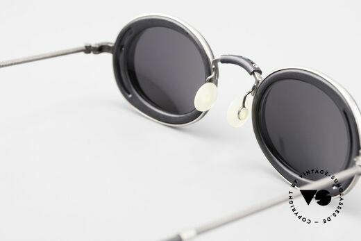 DOX 05 ATS Industrial Brille Gaultier Stil, KEINE RETRObrille, sondern ein einzigartiges Original, Passend für Herren und Damen