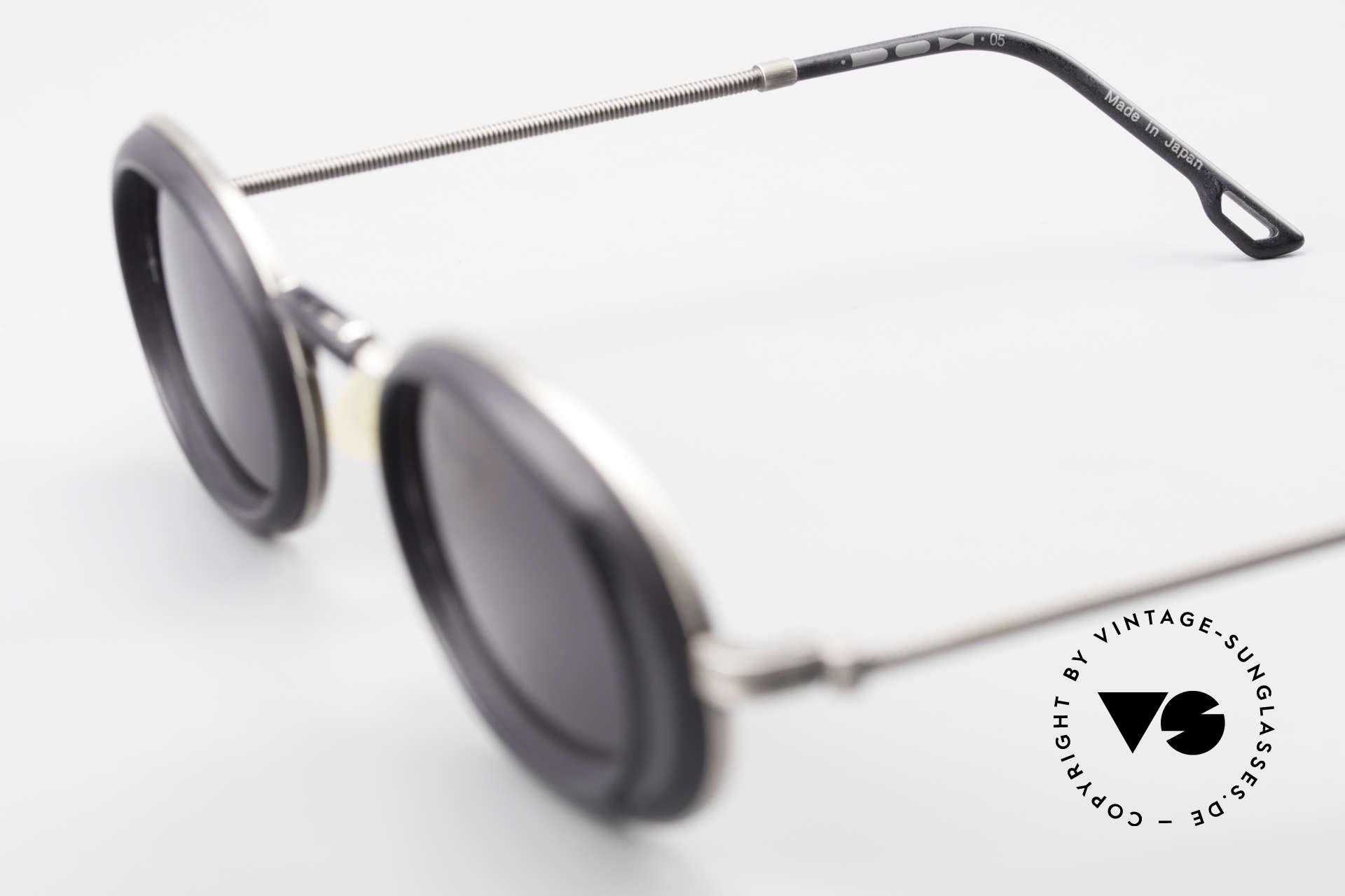 DOX 05 ATS Industrial Brille Gaultier Stil, Größe: medium, Passend für Herren und Damen