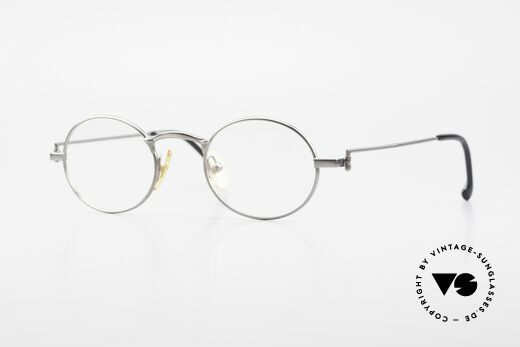 W Proksch's M31/11 Ovale Brille 90er Avantgarde Details