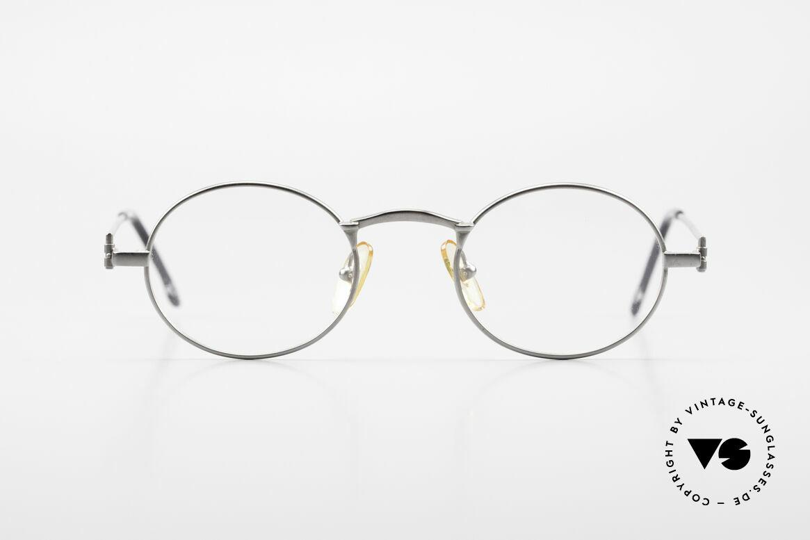 W Proksch's M31/11 Ovale Brille 90er Avantgarde, damals noch von Wolfgang Proksch selbst produziert, Passend für Herren