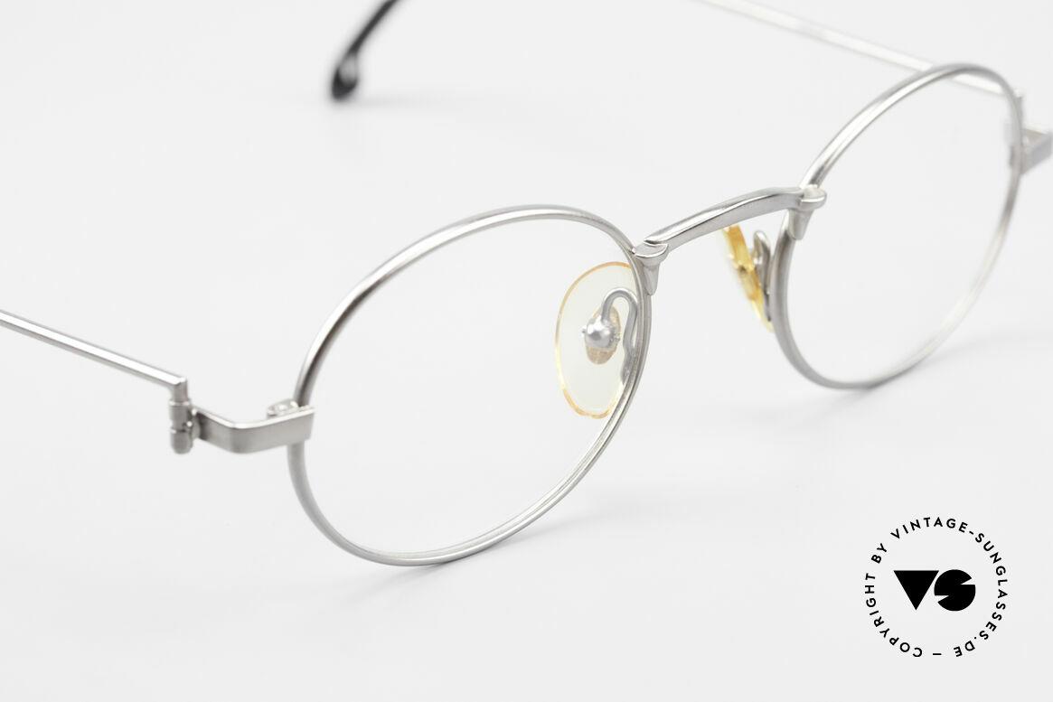 W Proksch's M31/11 Ovale Brille 90er Avantgarde, dieses alte WP Original verkörpert stilvolle Eleganz, Passend für Herren