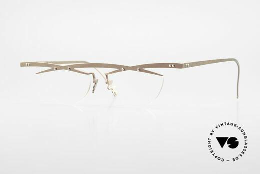 Theo Belgium Tita III 4 Crazy Vintage Brille XL 90er Details