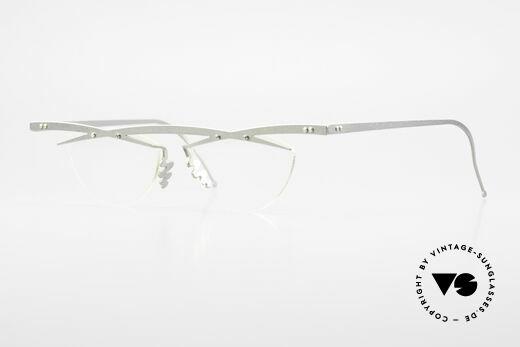 Theo Belgium Tita III 7 Crazy XL Vintage Brille 90er Details