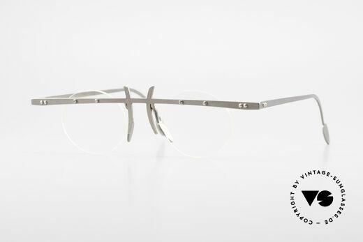 Theo Belgium Tita VI 3 Crazy Brille 90er Titanium Details