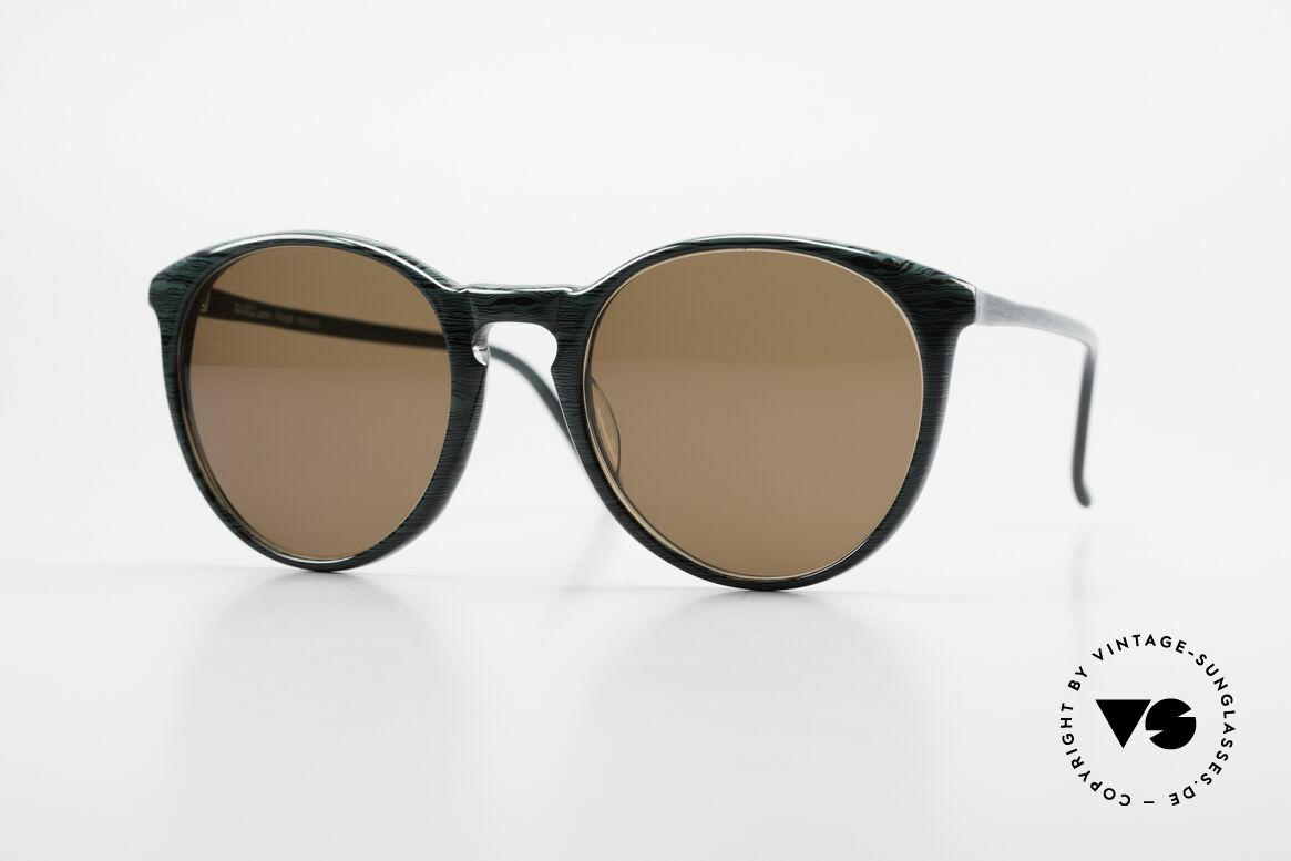 Alain Mikli 901 / 285 Panto Brille Grün Marmoriert, elegante ALAIN MIKLI Paris Designer-Sonnenbrille, Passend für Herren und Damen