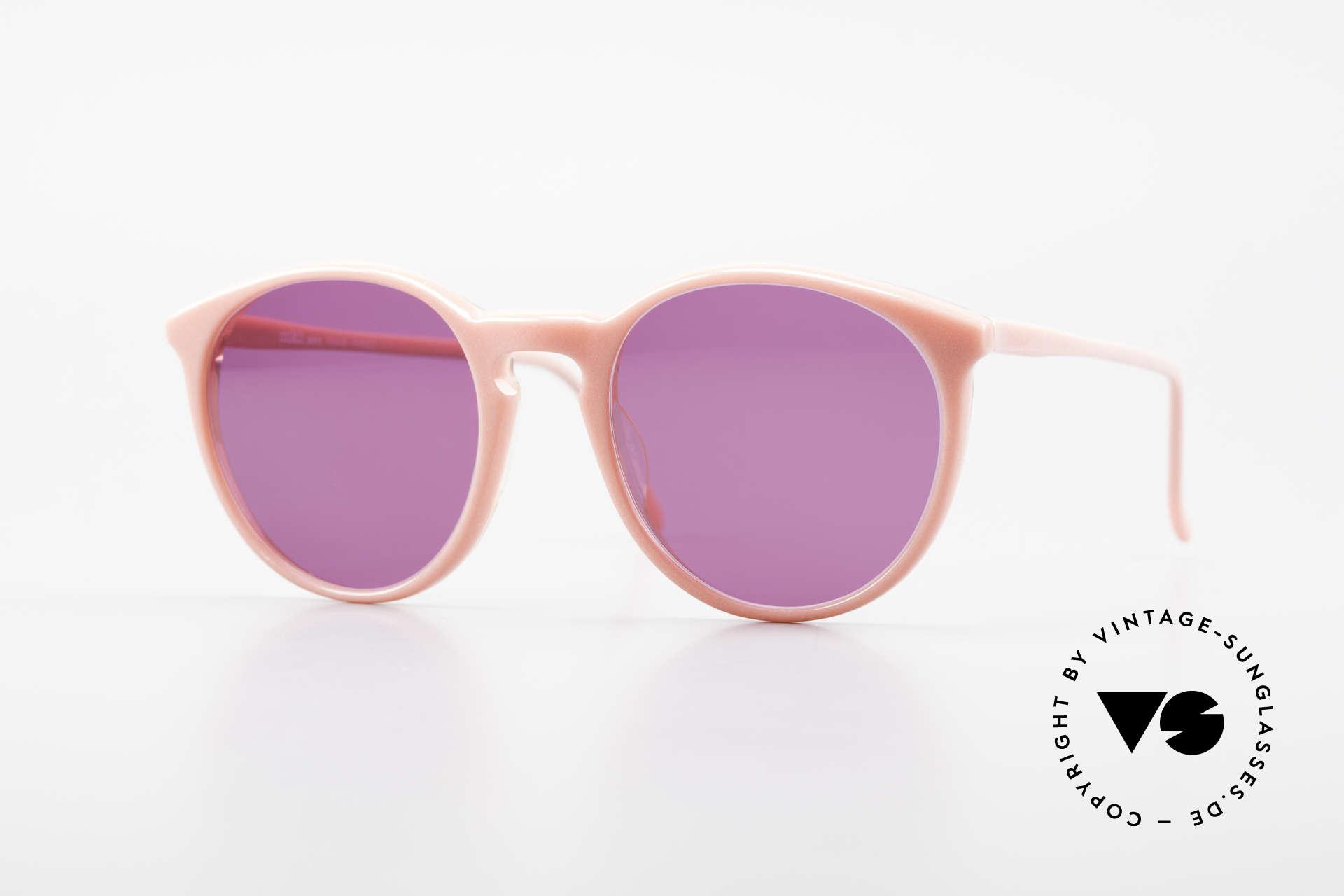 Alain Mikli 901 / 081 Panto Sonnenbrille Lila Pink, elegante ALAIN MIKLI Paris Designer-Sonnenbrille, Passend für Damen