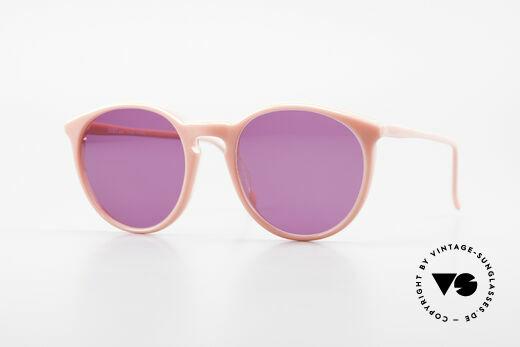 Alain Mikli 901 / 081 Panto Sonnenbrille Lila Pink Details