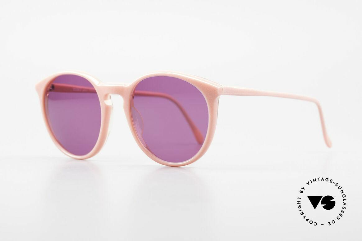 Alain Mikli 901 / 081 Panto Sonnenbrille Lila Pink, tolle Farbkombination für Ladies in pink & violett, Passend für Damen